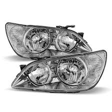 lexus is300 headlight assembly 2001 2005 lexus is300 replacement headlights chrome