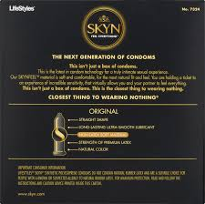 lifestyles skyn premium ultra smooth lubricated non latex condoms