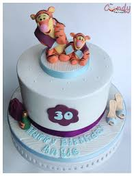 tigger and tigglet west ham 30th birthday cake the candy cake