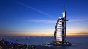 hotel dubai burj al arab sunset hd wallpaper hd wallpaper of