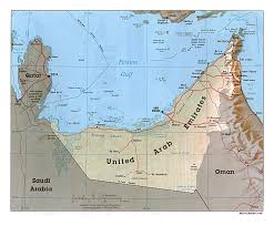 uae map maps of united arab emirates detailed map of uae in
