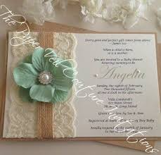 vintage invitations rustic vintage garden lace collection invitation burlap kraft