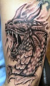 of scary s tattoos