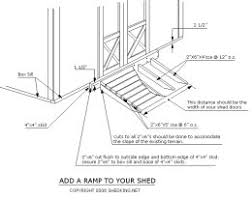 How To Build A Small Storage Shed by How To Build A Shed Ramp Add Shelves And More For Your Storage Shed