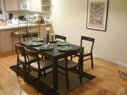 mahogany dining table and 6 chairs sale wood stripe upholstered