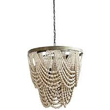 bead chandelier square metal chandelier w color wood country home