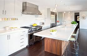 renovation blogs modern kitchen design with long dining table and sink also a lot