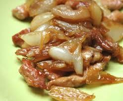 marmiton org recettes cuisine porc caramélisé aux échalotes recette de porc caramélisé
