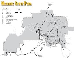 Missouri State Parks Map by Park Maps