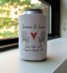 koozies for weddings wedding favors ideas amazing wedding favors koozies ideas