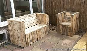 Pallets Patio Furniture Outdoor Pallet Sofa Plans Pallet Wood Projects