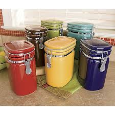 colorful kitchen canisters decorative kitchen canisters colorful canisters vintage