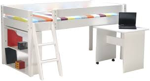 lit mezzanine enfant avec bureau lit mezzanine 1 place blanc cool lit mezzanine x avec bureau pin