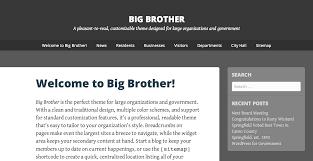 Pleasant Theme Big Brother Theme U2014 Wordpress Com