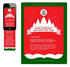 christmas email template free business template
