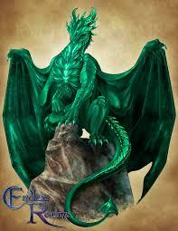 Emerald Endless Realms Bestiary Emerald Dragon By Jocarra On Deviantart