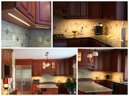 interior enchanting kitchen decoration using led lights under