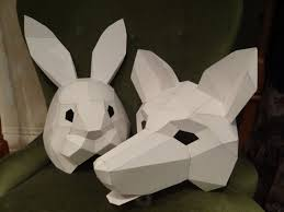 diy halloween masks animal masks how to make fox mask