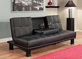 black convertible sofa amazon com luxury modern convertible sofa futon bed twin sized