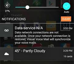 verizon visual voicemail android how to stop data network connections notifications verizon