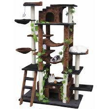 Cool Cat Furniture Modern Style Tree Branches Arrangement For Pets At Home Setting