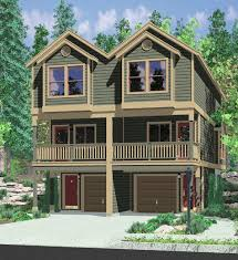 Duplex Plans With Garage Best 25 Duplex Plans Ideas On Pinterest Duplex House Plans