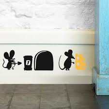 online get cheap removable wall murals aliexpress com alibaba group hot 3d funny cartoon mouse hole wall stickers for kids rooms home decals decorative removable wall murals 3d stickers 387