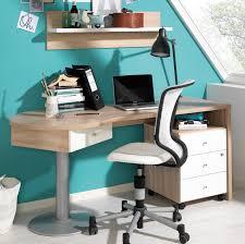 Schreibtisch 130 Breit Wellemöbel Teenio Schreibtisch Jugendzimmer 160 Cm Wildeiche Weiß