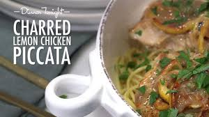 Chicken Piccata Cooking Light Charred Lemon Chicken Piccata Recipe Myrecipes