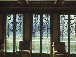 leaded glass french doors the leaded glass windows of frank lloyd wright