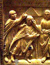 Blind Man At Bethsaida Journey With Jesus Blind Bartimaeus