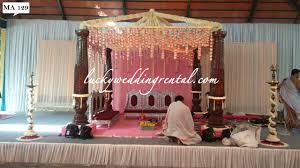 Mandap Decorations Mandap Decorations On Rent Lucky Wedding Rental