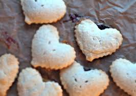 heart shaped crackers and easy gift mini heart shaped pies