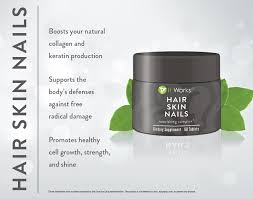 it works hair skin nails supplement wraptoned