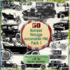 vintage cars clipart 50 vintage old cars png clip art instant download