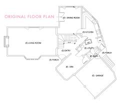 Tara Floor Plan by Our Main Floor Demo Plan Emily Henderson