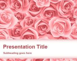 flowers powerpoint templates