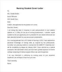 student cover letter exle cover letter exles for nursing students supplyshock org