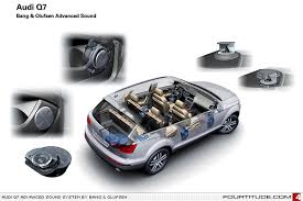 audi a8 and olufsen fourtitude com advanced sound system for q7 by olufsen