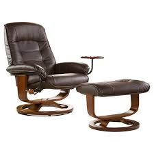 Ergonomic Recliner Chair Endearing Recliner With Ottoman Scansit 110 Ergonomic Leather