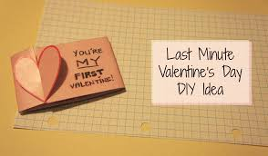 last minute valentine u0027s day diy