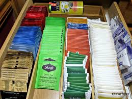 Tea Organization by To Organize Your Home With Silverware Trays