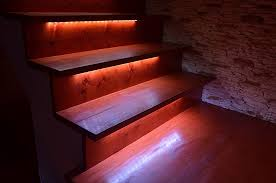 led strip lights for stairs stair led light strips awesome house lighting special led light