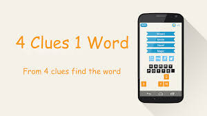 4 clues 1 word android apps on google play
