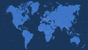 World Map Simple Vector by Vector World Map With All Countries 2016 Maproom