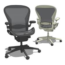 Desk Chair Herman Miller Aeron Task Chair 3d Model Formfonts 3d Models U0026 Textures