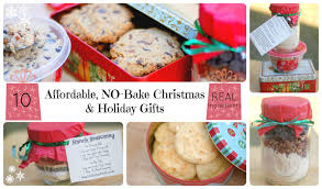 10 affordable no bake christmas and holiday gifts