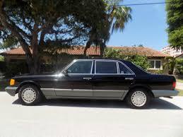 mercedes 420sel 1991 mercedes 420 sel 1 owner car with 46 k black on black