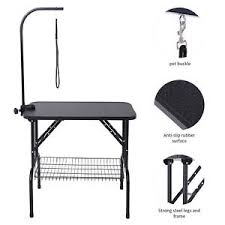 large dog grooming table 32 large dog cat pet grooming table portable with arm noose
