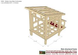 free printable blueprints chicken coop building plans printable with simple chicken coop